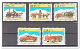 Cuba 1998, Postfris MNH, Fire Engines - Cuba