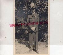 MILITARIA- CARTE PHOTO MILITAIRE MICHEL SAINT AMOUR JUILLET 1947- - War, Military
