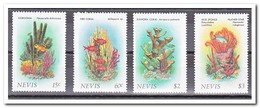 Nevis MI 410-413, Postfris MNH, Sealife - Anguilla (1968-...)