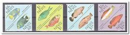 Nevis MI 467-474, Postfris MNH, Fish - Anguilla (1968-...)
