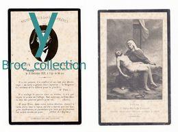 Saint-Gérand-le-Puy, Varennes-sur-Allier, Mémento Jean Périchon, 31/12/1929, 54 Ans, époux Marie Fumoux, Cafetier - Images Religieuses