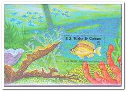 Turks & Caicos MI Block 81, Postfris MNH, Fish - Turks- En Caicoseilanden