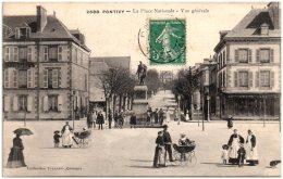 56 PONTIVY - La Place Nationale - Vue Générale - Pontivy