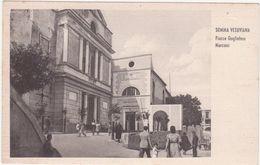 B001 - SOMMA VESUVIANA NAPOLI PIAZZA GUGLIELMO MARCONI ANIMATA 1940 CIRCA - Napoli