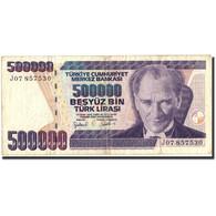 Billet, Turquie, 500,000 Lira, 1970, 1970, KM:212, TB - Turkey