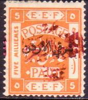 JORDAN TRANSJORDAN 1922 SG 41 5m Red-purple Opt MH CV £45 - Jordan