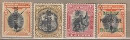 NORTH BORNEO 1897 Postage Due Used (o) / MH (*) #12813 - Nordborneo (...-1963)