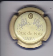 PLACA DE CAVA DUC DE FOIX (CAPSULE) - Placas De Cava