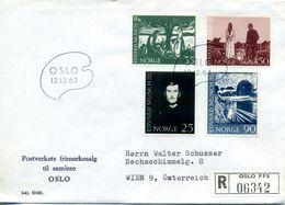 NORVEGE Norway LETTRE   12-12-1963 - Norway