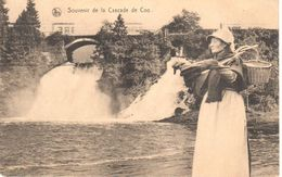 Stavelot - Coo - CPA - Souvenir De La Cascade De Coo - Stavelot