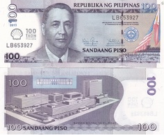 Philippines - 100 Piso 2013 UNC TAON Comm. Lemberg-Zp - Philippines