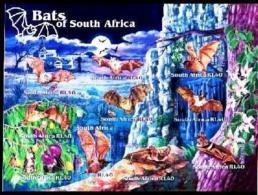 RSA, 2001, MNH Sheet Of Stamps  , SACC 1420, Bats Of South Africa, F3157 - Ongebruikt