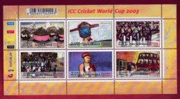 RSA, 2003, MNH Sheet Of Stamps  , SACC 1529-1534, ICC Cricket World Cup, M9168 - Zuid-Afrika (1961-...)