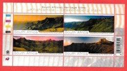 RSA, 2008, MNH Sheet Of Stamps  , SACC 1904, Drakensberg Park Heritage Site, F2647 - Unused Stamps