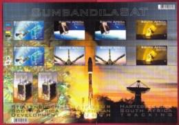 RSA, 2011, MNH Sheet Of Stamps  , SACC 2171, Sumbandila Satellite, M9255 - Unused Stamps