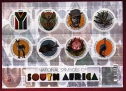 RSA, 2012, MNH Sheet Of Stamps  , SACC 2221, National Symbols, M9289 - Unused Stamps