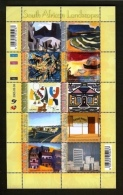RSA, 2005, MNH Sheet Of Stamps  , 1717, Landscape Paintings, F2664 - Used Stamps