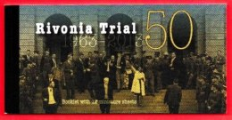 RSA, 2013, MNH Booklet Of Stamps ,  Rivonia Trial, F3825 - South Africa (1961-...)
