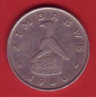 - ZIMBABWE - 1 Dollar - 1980 - - Zimbabwe