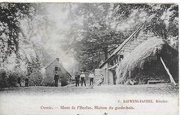 Orroir, Mont De L'enclus, Maison Du Garde-bois, Circulé En 1903 - Kluisbergen