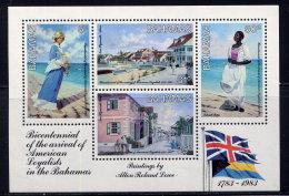 BAHAMAS, SOUVENIR SHEET, NO. 546a, MNH (RE) - Bahamas (1973-...)