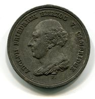 6738 - DEUTSCHLAND-HANNOVER - Medaille Von 1831, Adolf Friedrich Herzog Von Cambridge - Erhaltung Siehe Scans - Pièces écrasées (Elongated Coins)