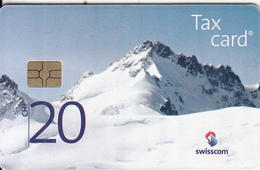 SWITZERLAND - Gletscherhorn, Chip GEM3.3, Exp.date 12/20, Used - Mountains