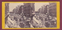 160218 PHOTO STEREO - ETATS UNIS NEW YORK - Anthony & Co - Looking Up Broadway From The Corner Of Broome St. - Other