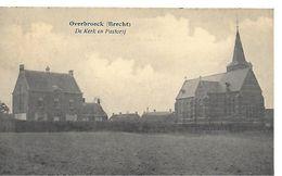 Overbroeck (brecht), De Kerk En Pastorij, Verstuurd 1925 - Brecht
