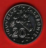 - NOUVELLE CALEDONIE - 20 Francs - 1997 - - Nouvelle-Calédonie