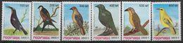 1992 MOZAMBIQUE 1224-29** Oiseaux - Mozambique