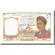 Billet, FRENCH INDO-CHINA, 1 Piastre, Undated (1932-39), Undated, KM:54c, NEUF - Indochine