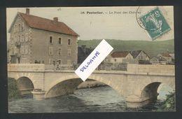 Pontarlier - Le Pont Des Chêvres- Faivre-Locca N° 26 - Couleur - Toilée - Pontarlier