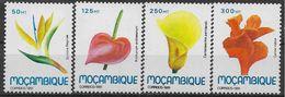 1991 MOZAMBIQUE 1186-89 ** Fleurs - Mozambique