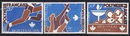 Polynésie Poste Aérienne N° 110 - 112 ** Jeux Olympiques Montréal - Unused Stamps