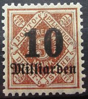 WURTEMBERG                Service 175                    NEUF** - Wuerttemberg