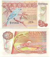 Suriname Surinam - 2 1/2 Gulden 1985 UNC Lemberg-Zp - Surinam