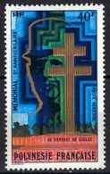 Polynésie Poste Aérienne N° 123 **, De Gaulle - Unused Stamps