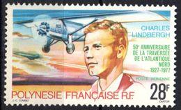 Polynésie Poste Aérienne N° 125 **, Lindbergh - Unused Stamps