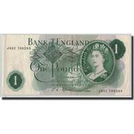 Billet, Grande-Bretagne, 1 Pound, Undated (1966-70), KM:374e, TB+ - 1952-… : Elizabeth II