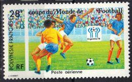 Polynésie Poste Aérienne N° 137 **,  Football - Unused Stamps