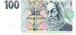 Czech Republic P.18  100 Korun 1997  Unc - Czech Republic