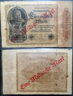 Billet Allemagne, 1 Milliarde Mark / 1000 Mark Type 1922 - [ 3] 1918-1933 : Repubblica  Di Weimar