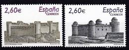 2008,  Spanien, 4360/61, Burgen (IX).  MNH ** - 1931-Hoy: 2ª República - ... Juan Carlos I