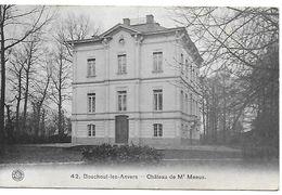 Bouchout-lez-anvers, Château De Mr Meeus, Verstuurd In 1913 - Boechout