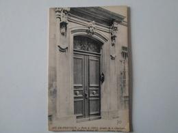 BOUCHES DU RHÔNE  Aix-en-Provence  Porte De L'Hôtel, Arnette De La Charlouny Rue Frédéric-Michel 10 - France