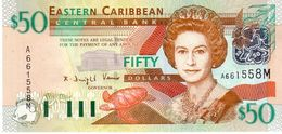 East Caribbean States P.45m  50 Dollars 2003  M  Unc - Caraibi Orientale