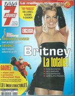 "TELE 7 JOURS  N° 2317  "" BRITNEY SPEARS   "" -   OCTOBRE  2004 - Télévision"