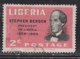 LIBERIA Scott # 314 Used - Past Presidents Of Liberia - Liberia