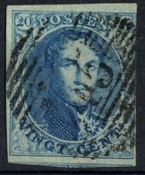 1851 - Nr 7 - Vingt Cents (°) Dun Papier, 45 Gand - 1851-1857 Medallions (6/8)